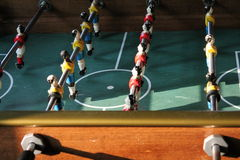 Soccer Brazil Tabletop Foosball football Stock Photos