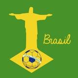 Soccer brazilian Stock Image