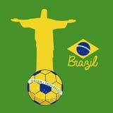 Soccer brazilian Royalty Free Stock Photos