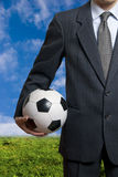 Soccer business Stock Photos