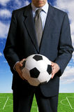 Soccer business Royalty Free Stock Images