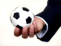 Soccer business Royalty Free Stock Photography