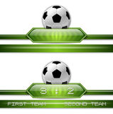 Soccer Button Royalty Free Stock Photos