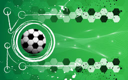 Soccer chalk charcoal abstract background Royalty Free Stock Images