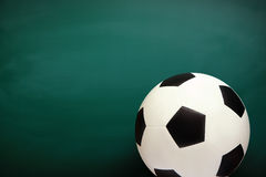 Soccer and Chalkboard Royalty Free Stock Photography