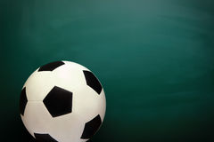 Soccer and Chalkboard Stock Photos