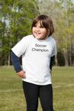 Soccer Champion Royalty Free Stock Photo