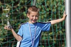 Soccer champion Royalty Free Stock Image
