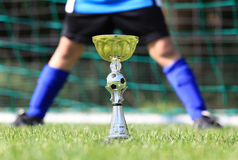 Soccer champion cup Royalty Free Stock Photography