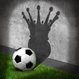 Soccer Champion And Football Winner Royalty Free Stock Photos