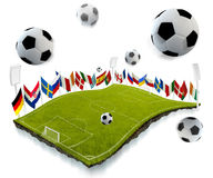 Soccer championship Royalty Free Stock Photography