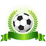 Soccer championship concept royalty free illustration