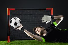 Soccer. Fotball match.Championship concept with soccer ball. royalty free stock image