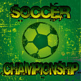 Soccer championship icon  Royalty Free Stock Photo