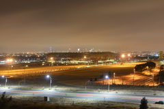 Soccer City - FNB Stadium Johannesburg at Night Stock Image