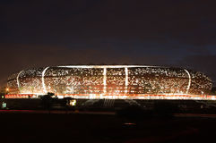 Soccer City,johannesburg. South africa will host the 2010 world cup of soccer. Jewel of the crown is the soccer city in soweto-johannesburg, and the stadium Royalty Free Stock Image