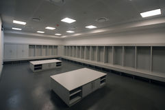 Soccer City stadium changing room, johannesburg Stock Images