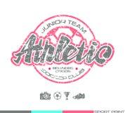 Soccer club emblem Stock Images