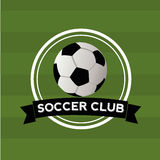 Soccer club Stock Image