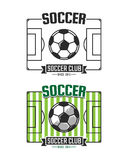 Soccer club Royalty Free Stock Photography