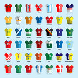 Soccer club Team Wear big set Stock Photo