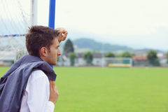 Soccer coach Royalty Free Stock Photography