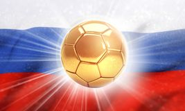 2018 soccer competition in Russia Royalty Free Stock Photo