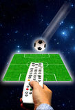 Soccer concept Royalty Free Stock Photo