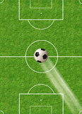Soccer concept Royalty Free Stock Images