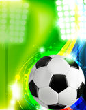 Soccer concept background Royalty Free Stock Images