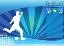 Soccer concept background vector Stock Photo