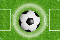 Soccer concept Stock Photography