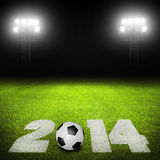 Soccer in 2014 Stock Images