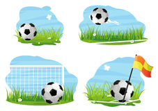 Soccer concept Stock Image