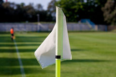 Soccer Corner kick flag Royalty Free Stock Photos
