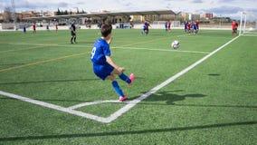 Soccer Corner Kick Royalty Free Stock Image