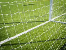 Soccer Corner Marking Royalty Free Stock Image