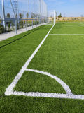 Soccer Corner Marking Stock Images