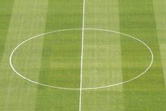 Soccer court center Stock Images