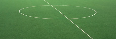 Soccer court Stock Images