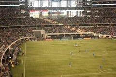Soccer at Cowboys Stadium  Stock Photo