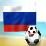 Soccer creative Royalty Free Stock Photos