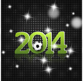 2014 Soccer. Creative Design Image Look Royalty Free Illustration