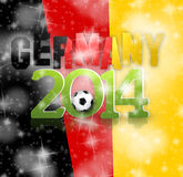 2014 Soccer. Creative Image Design Stock Illustration