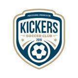 Soccer Crest Stock Images