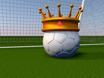 Soccer crown Stock Images