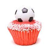 Soccer Cup Cake Stock Images