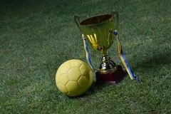 Soccer cup Stock Photos