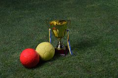 Soccer cup Stock Image