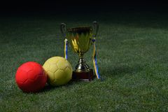 Soccer cup Royalty Free Stock Images